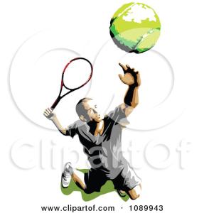 tennis serve tossing