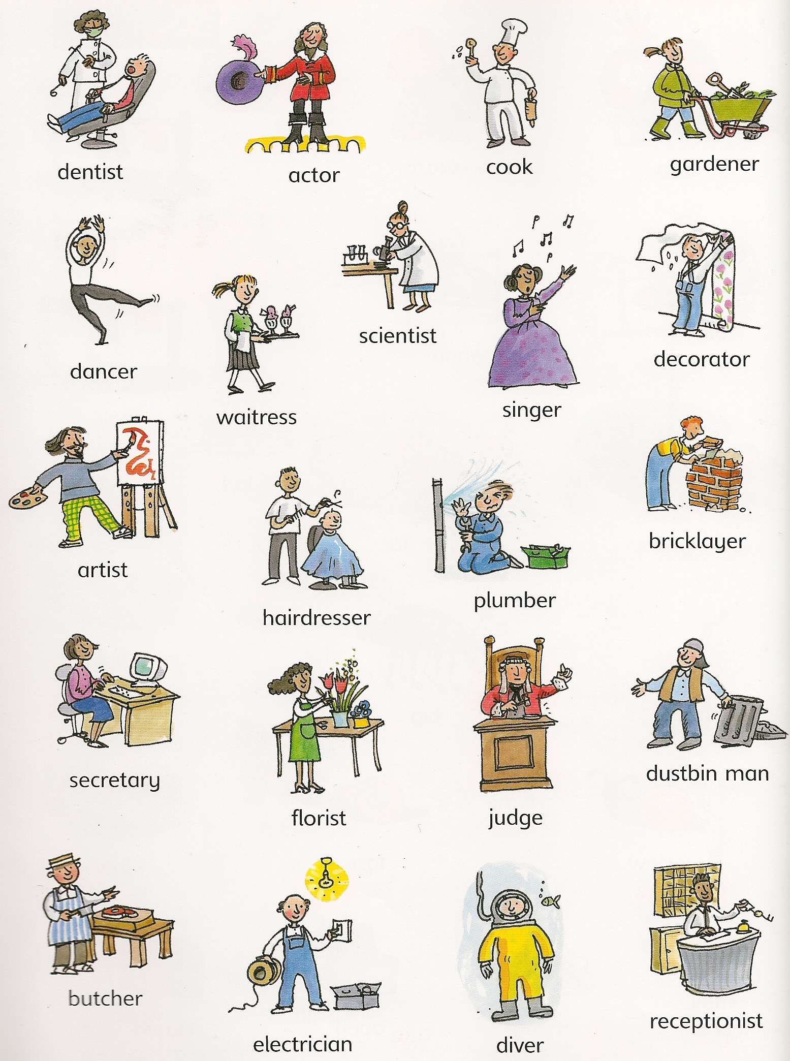 talking about occupations skills and abilities living english occupations 1 occupations 2